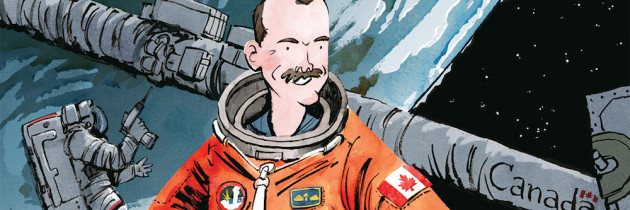 Biographies en images : Voici Chris Hadfield